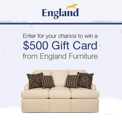England Furniture Winter Sweepstakes