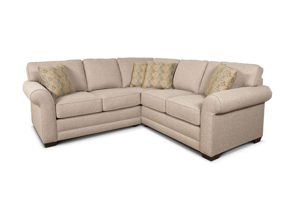 England Furniture Brantley Sectional Sofa England Furniture Factory Tour