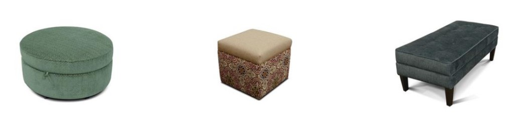 England Furniture Ottomans - Midtown Parson and Jacob