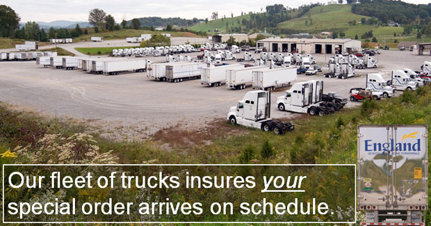 England Furniture Company Trucks