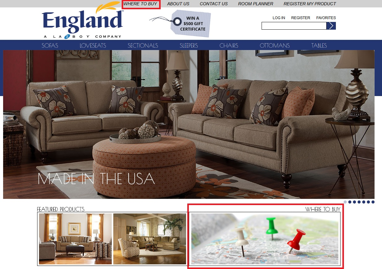 New England Sofas England Furniture Thesofa