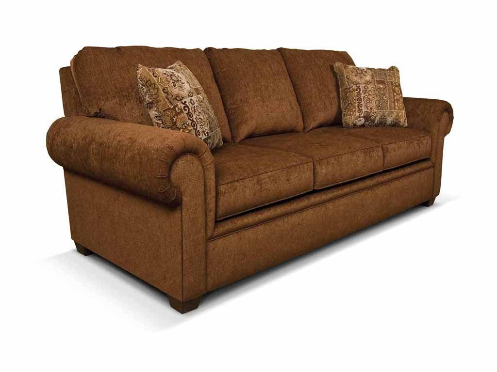 England furniture brett queen sleeper sofa england for Sectional sofa with recliner and queen sleeper