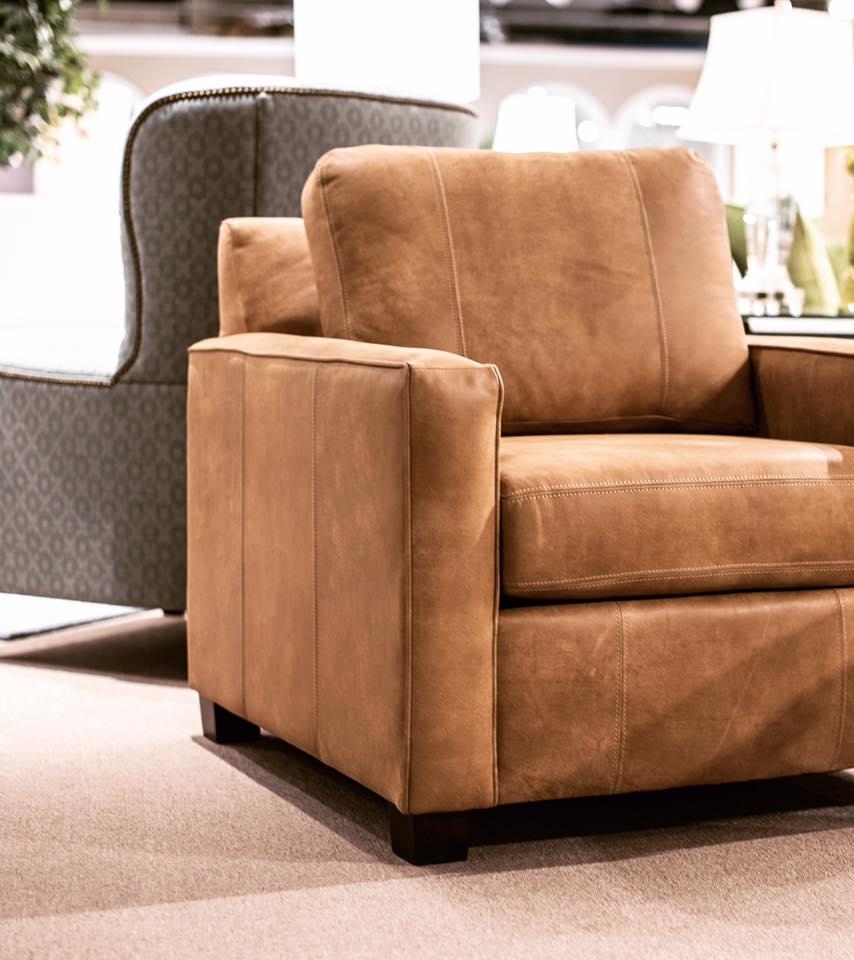 Leather Furniture Company: England Furniture Factory Tour