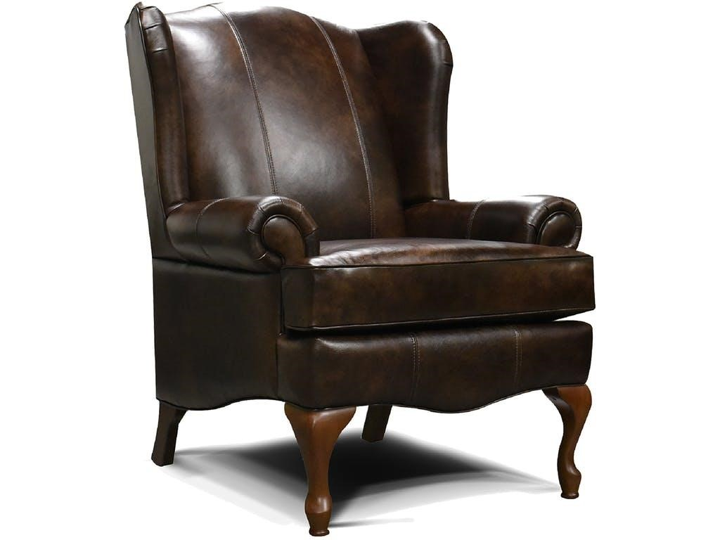 09 feb - Leather Wingback Chair