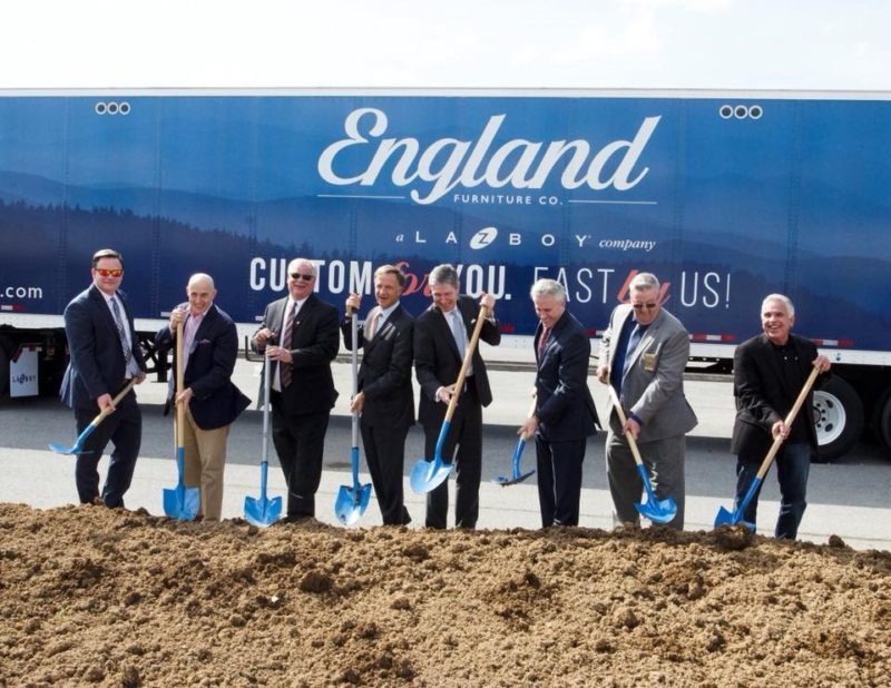 England Furniture creates 200 American jobs in Tennessee factory expansion.